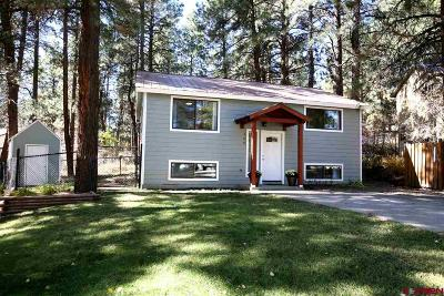 Durango Single Family Home For Sale: 144 Timber Drive