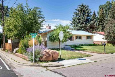 Durango CO Single Family Home For Sale: $460,000