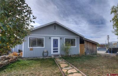 Mancos Single Family Home For Sale: 661 W Railroad Avenue