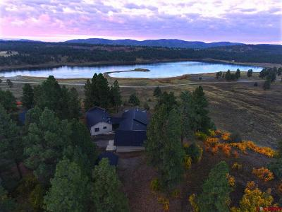 Pagosa Springs Single Family Home UC/Contingent/Call LB: 86 W Blue Lake Drive