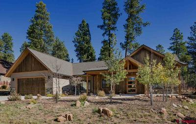 Durango CO Single Family Home For Sale: $645,000