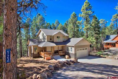 Bayfield Single Family Home NEW: 122 Deer Ridge