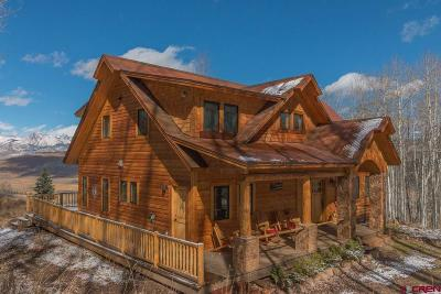Crested Butte Single Family Home UC/Contingent/Call LB: 496 White Buffalo Trail
