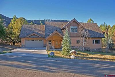 Durango Single Family Home For Sale: 240 Legends Drive