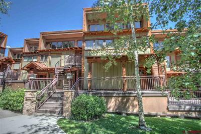 Durango Condo/Townhouse For Sale: 365 S. Tamarron Drive #711 #711