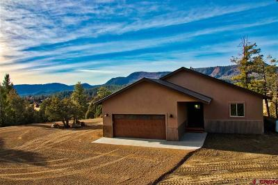 Pagosa Springs Single Family Home For Sale: 57 Antler Court
