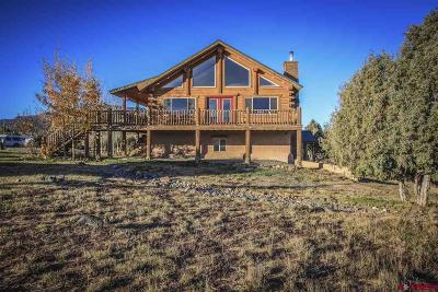 Pagosa Springs Single Family Home For Sale: 2439 Co Rd 359