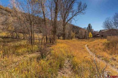 Durango Residential Lots & Land For Sale: 3 Tanque Verde Sd