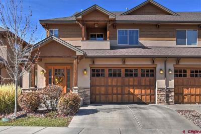 Durango Condo/Townhouse For Sale: 117 Tierra Vista Drive