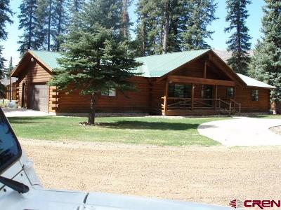 Bayfield Single Family Home For Sale: 582 W. Grimes Creek Rd