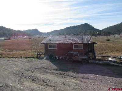 Pagosa Springs Single Family Home UC/Contingent/Call LB: 1050 Hurt Drive