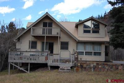 Ouray County Single Family Home For Sale: 95 Cascade Drive