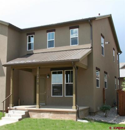 Durango Condo/Townhouse For Sale: 378 Clear Spring