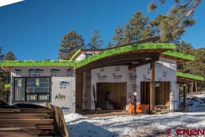 Durango Condo/Townhouse For Sale: 1901 Glacier Club Drive #5