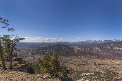 Durango Residential Lots & Land For Sale: 10 Durango Cliffs Drive