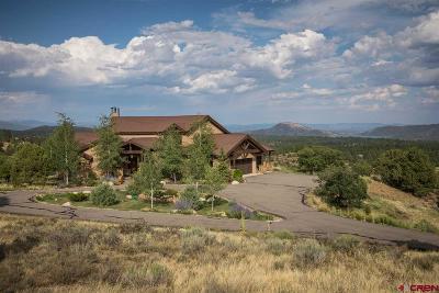 La Plata County Single Family Home For Sale: 208 Cima Vista Way