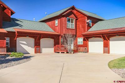Pagosa Springs Condo/Townhouse For Sale: 620 Lakeside #11