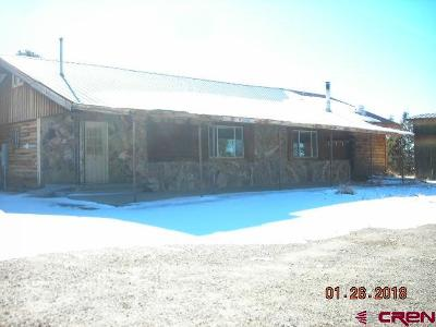 Ignacio Single Family Home For Sale: 12386 Hwy 172