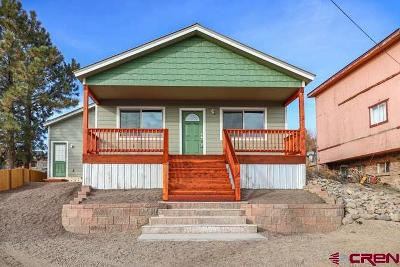 Pagosa Springs Single Family Home For Sale: 546 S 9th Street