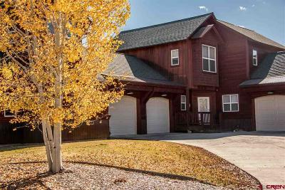 Pagosa Springs Condo/Townhouse For Sale: 620 Lakeside Drive #19