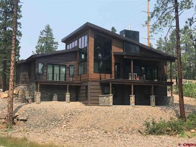 Durango Single Family Home For Sale: 1901 Glacier Club Drive #7