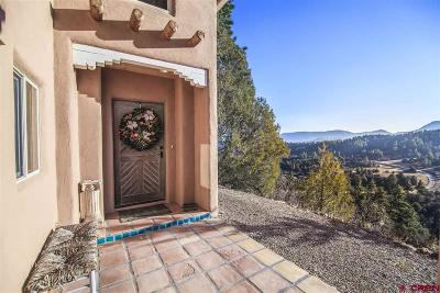Pagosa Springs Single Family Home For Sale: 2785 Meadows Drive