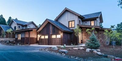 Durango Condo/Townhouse For Sale: 87 Glacier Club Trail #16