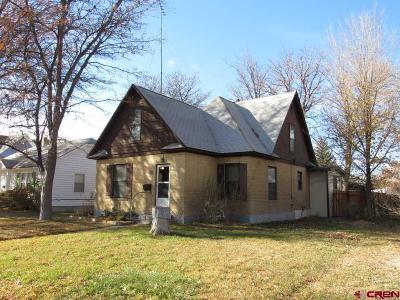 Delta CO Single Family Home For Sale: $185,000
