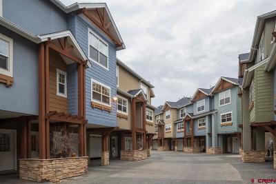Durango Condo/Townhouse For Sale: 1 E 6th Avenue #49
