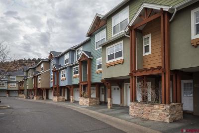 Durango Condo/Townhouse For Sale: 1 E 6th Avenue #61