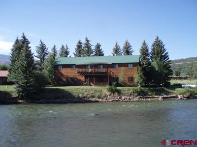 South Fork CO Single Family Home For Sale: $649,000
