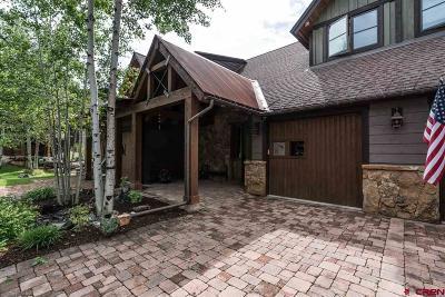 Durango Condo/Townhouse For Sale: 84 Glacier Club Trail #8