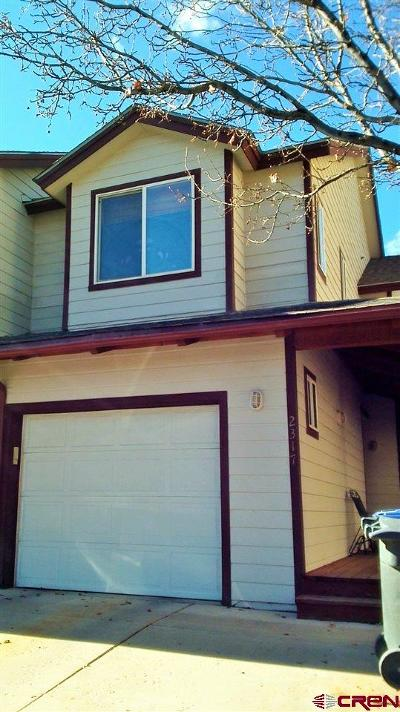 Durango Condo/Townhouse For Sale: 2317 Forest Avenue