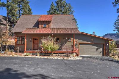 Durango Single Family Home For Sale: 81 Red Canyon Trail #C