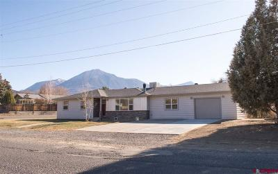 Paonia CO Single Family Home For Sale: $339,000