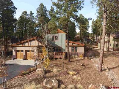 Durango Single Family Home For Sale: 52 Edgemont Highlands Pass