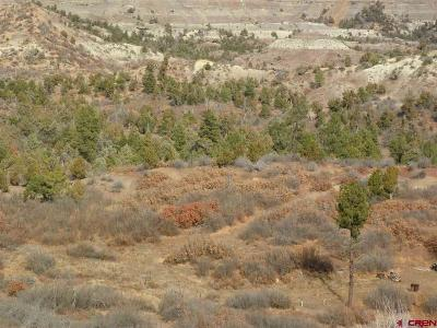 Durango Residential Lots & Land For Sale: 5600 La Posta Canyon Rd