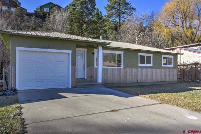 Durango Single Family Home For Sale: 2515 Delwood Avenue