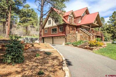 Pagosa Springs Single Family Home For Sale: 220 Shooting Star