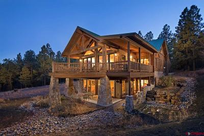 Pagosa Springs Single Family Home For Sale: 887 Majestic Drive