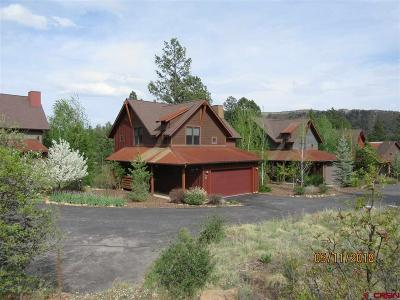 Durango Single Family Home For Sale: 70 Tenderfoot Ct Court
