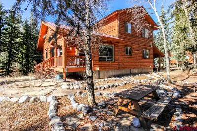 Bayfield Single Family Home NEW: 656 W Vallecito Creek Road