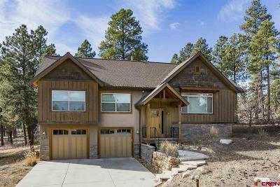 Durango Single Family Home NEW: 165 Clear Creek Loop