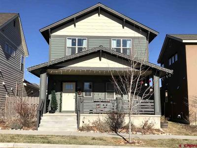 Durango Single Family Home For Sale: 265 Salt Brush Street
