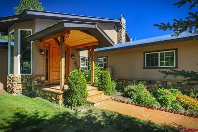 Pagosa Springs Single Family Home For Sale: 3700 County Rd 600