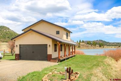 Pagosa Springs Single Family Home For Sale: 117 Laguna Place