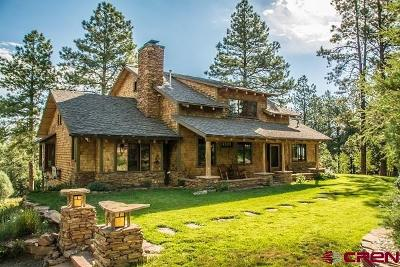 Pagosa Springs Single Family Home For Sale: 315 La Tierra Ct