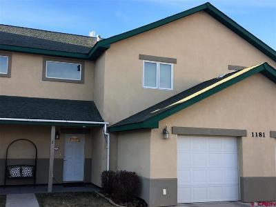 Cortez Condo/Townhouse For Sale: 1181 E Montezuma Avenue #Unit 2