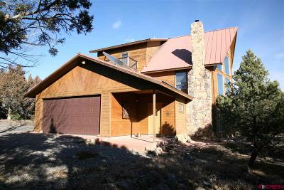 Single Family Home For Sale: 21186 Uintah Road