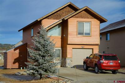 Pagosa Springs Single Family Home For Sale: 36 Scratch Court